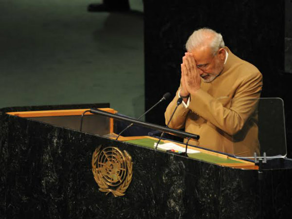 Indians call earth Mother: PM Modi