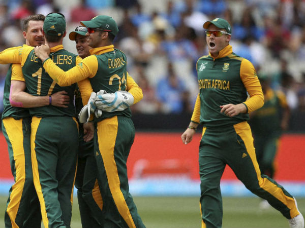 SA cricket team arrives in Delhi