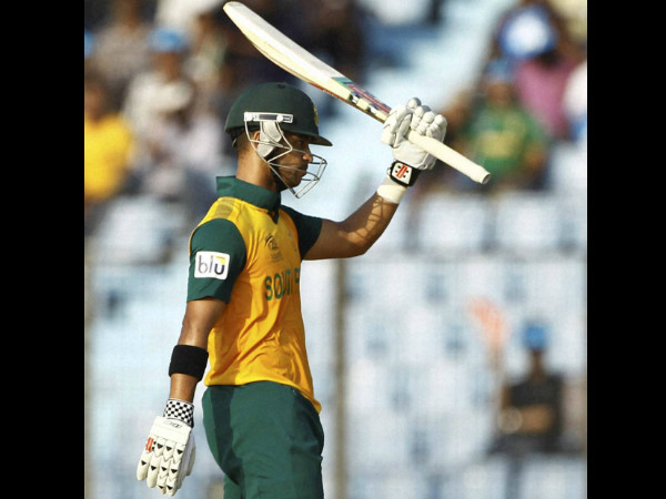 A file picture of JP Duminy