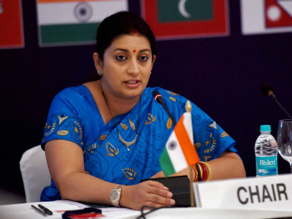 Irani urges youth to use govt schemes
