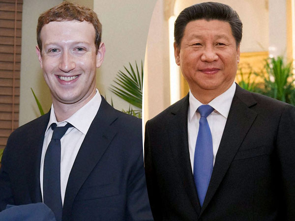Image result for Mark Zuckerberg Xi Jinping, pictures