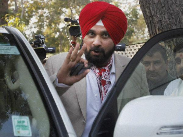 A file picture of Navjot Singh Sidhu