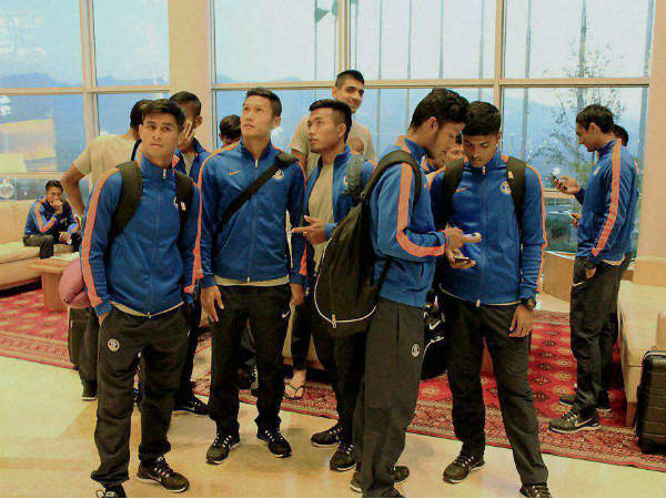 Indian football team arrives in Ashgabat (Turkmenistan) on Monday (October 5)