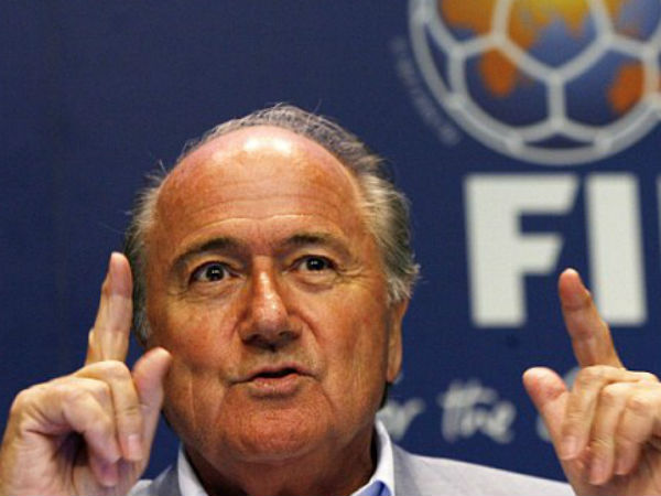 Was criticised without evidence: Blatter