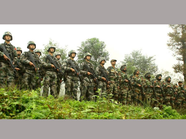 Indo-Sino joint military exercise