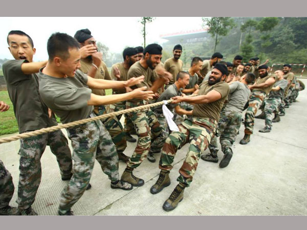 Indo-Sino Combined Military Training Exercise