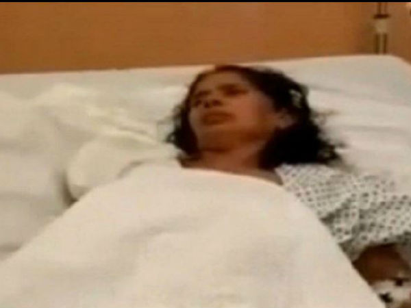 Indian maid's hand chopped off
