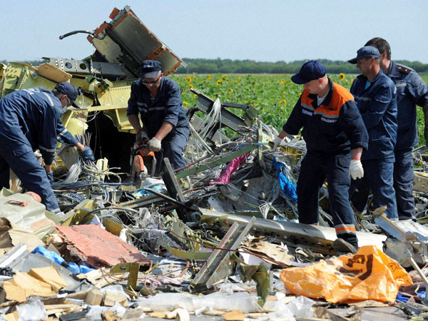 'Russian-made Buk missile downed MH17'