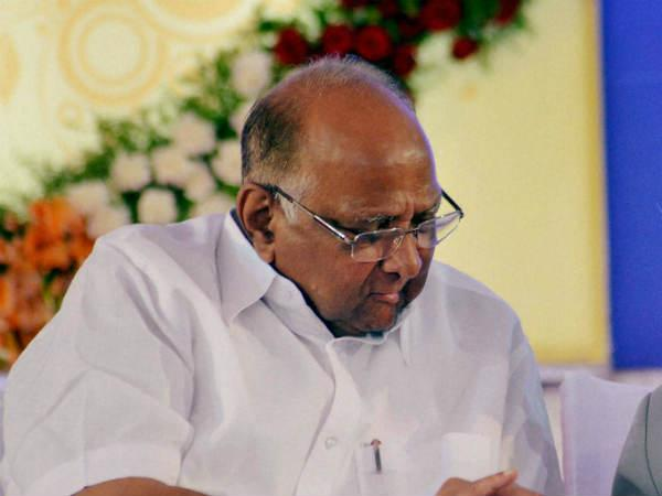 NCP no longer supports Fadnavis government: Sharad Pawar.
