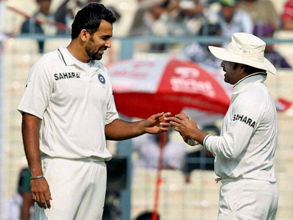 File photo: Zaheer (left) with Sachin