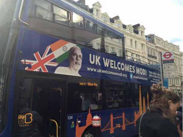 Indian community launches Modi Express in London