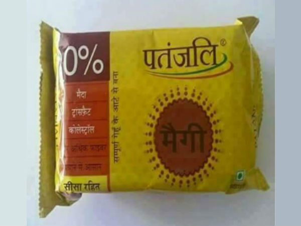 Ramdev noodles will be out in Nov