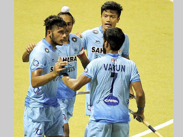 A file picture of Indian players at Sultan of Johor Cup