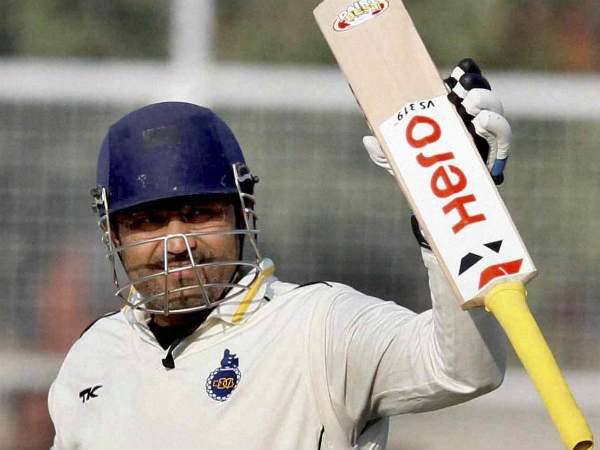 Virender Sehwag announces retirement from international cricket.