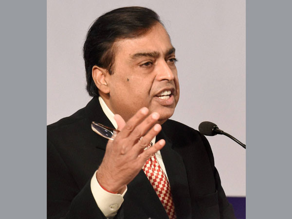 Mukesh Ambani says nation on the cusp of a digital revolution.