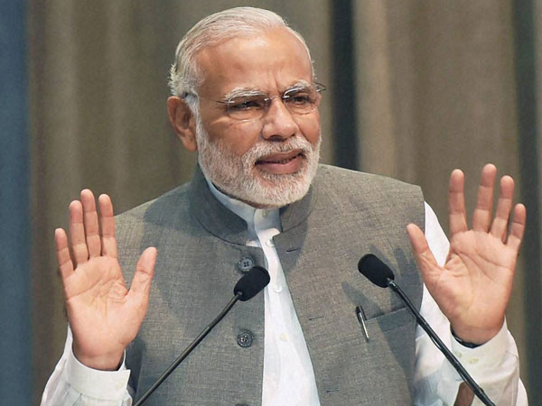Modi greets RSS on completing 90 years