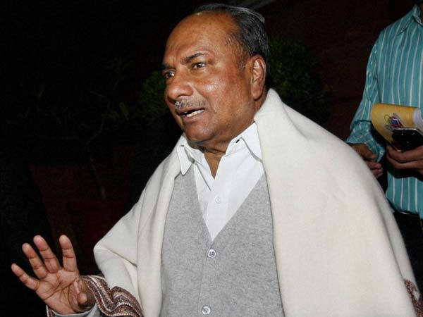 BJP govt 'transitory'; Cong will return to power: AK Antony.