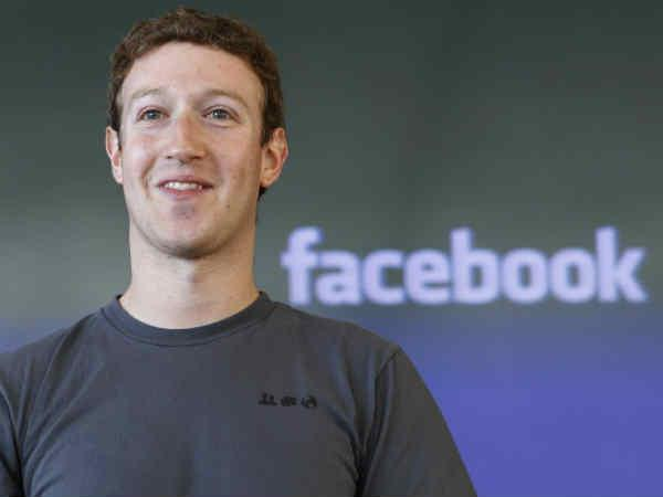 Mark Zuckerberg in Delhi today