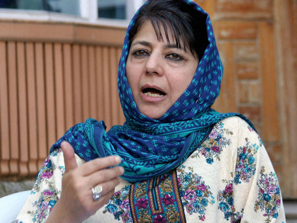 Constitution allows a person to eat whatever he wants: Mehbooba Mufti.