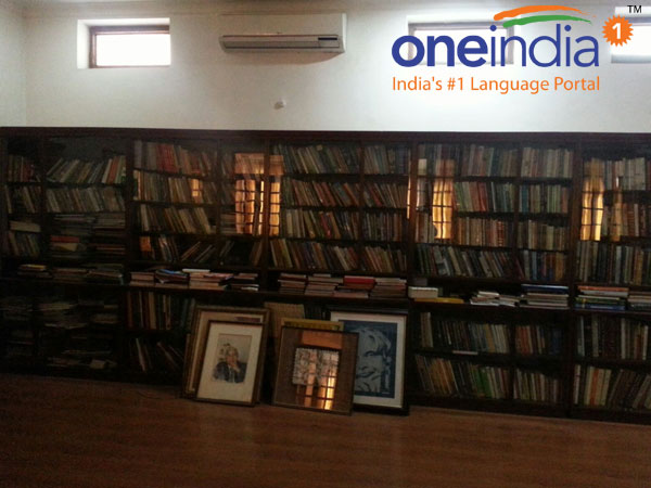 Kalam's library at his bungalow