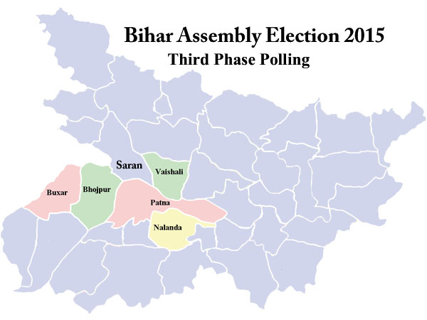 Bihar poll 3rd phase: 53.32% voting