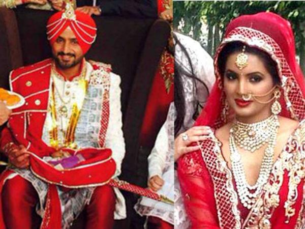harbhajan singhgeeta basra marriage violence dharna mar