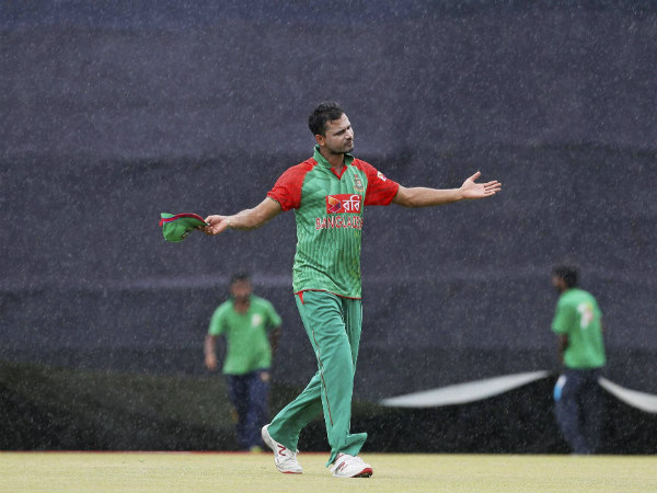 A file photo of Mashrafe Mortaza