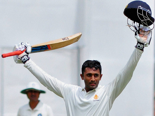 Shreyas Gopal celebrates his century