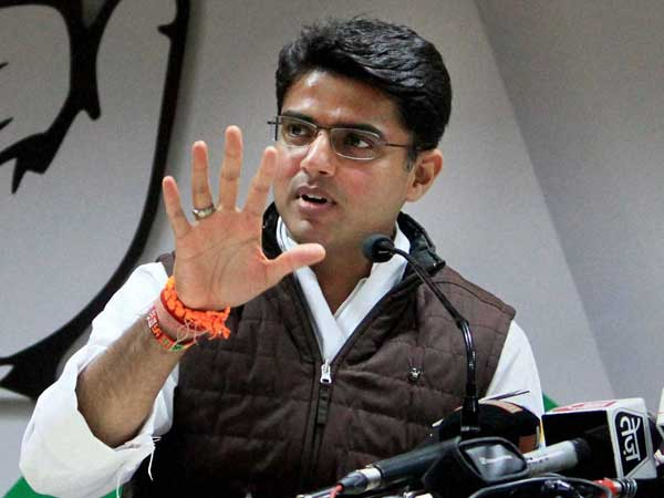Rajasthan Congress chief Sachin Pilot