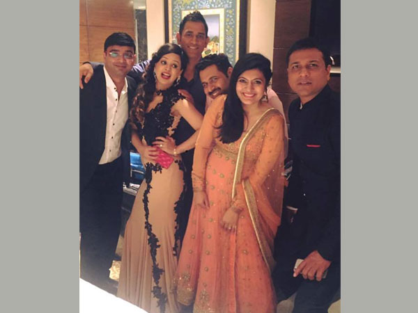 Delhi: The Dhonis at Taj Palace Hotel