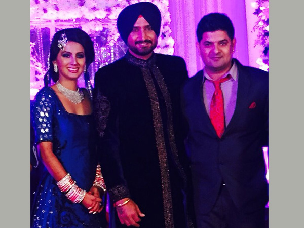 The beautiful Harbhajan Singh and Geeta Basra