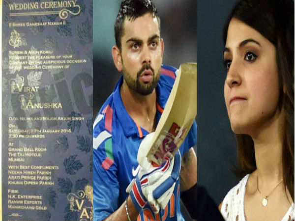 Remarkable Virat Kohli To Marry Anushka Sharma On Jan 23 2016 Leaked Short Hairstyles For Black Women Fulllsitofus