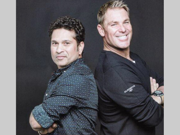 Tendulkar (left) and Warne set to play in America