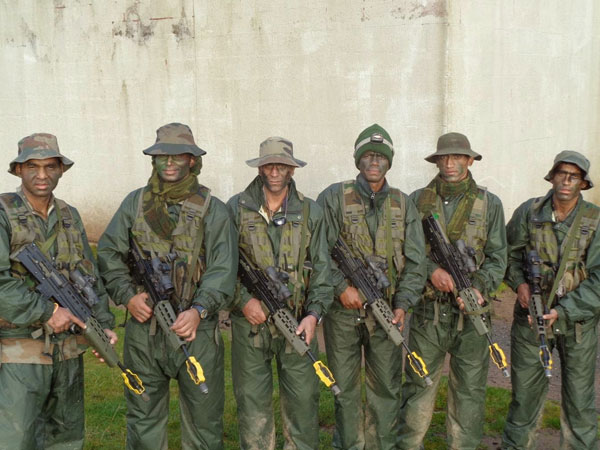 File photo of Indian Army's Cambrian Patrol Team (8 Garhwal Rifles) that won the gold medal in 2014.