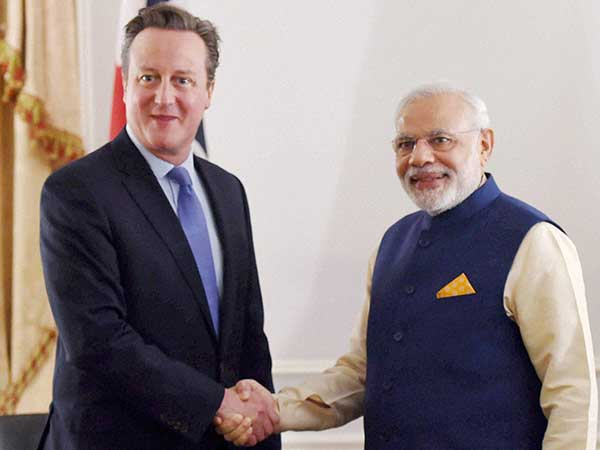 Britain welcomes PM Modi with video
