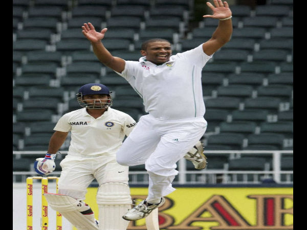 Philander ruled out for Test series
