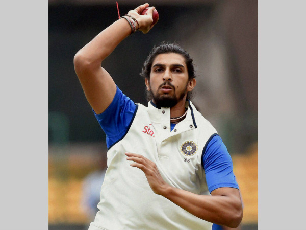 Ishant bowls in nets on Friday in Bengaluru. He is set to play after serving 1-match ban