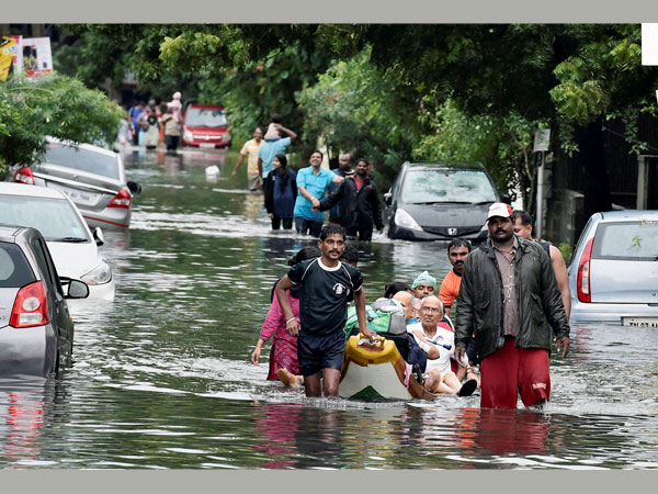 Rains in Chennai: Residential areas inundated