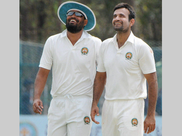 File photo: Irfan (right) with brother Yusuf during a Ranji Trophy game