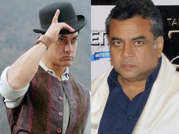 Aamir Khan and Paresh Rawal