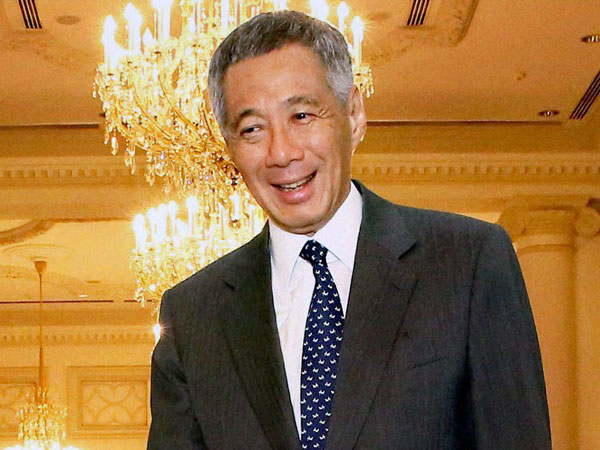 Singapore PM Lee Hsien Loong. PTI file photo