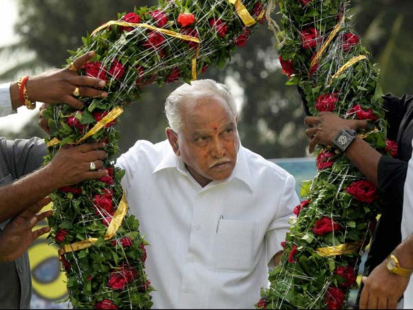 Relief for BS Yeddyurappa