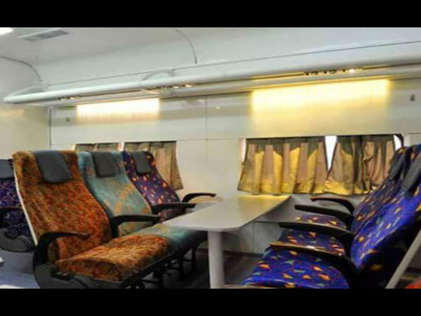 Stunning interiors of new luxury train coaches