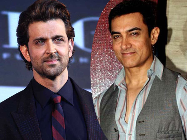 Hrithik Roshan and Aamir Khan