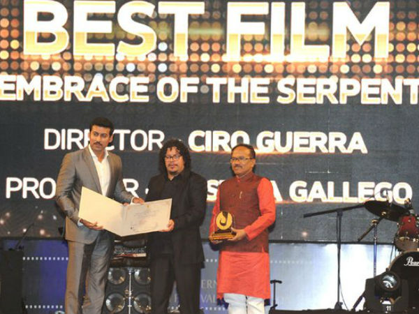 IFFI: 'Embrace of the Serpent' wins