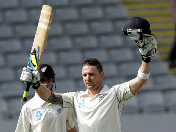 Brendon McCullum will captain New Zealand