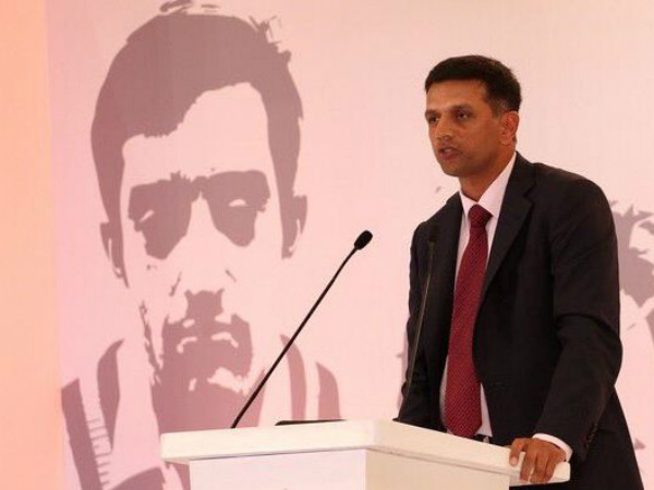 Dravid emphasised on junior cricket