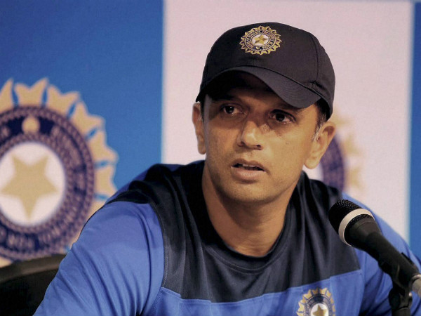 Dravid is now coaching India 'A' and Under-19