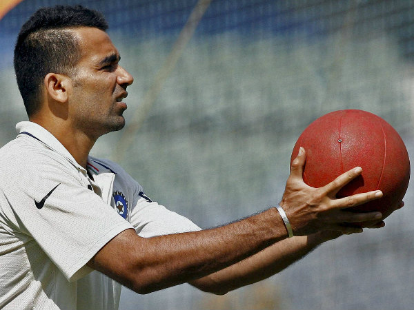 Dravid spoke about Zaheer
