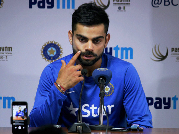 Kohli has hit out at critics of Indian pitches